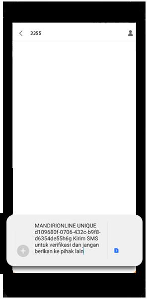 Verikasi Nomor Ponsel melalui SMS